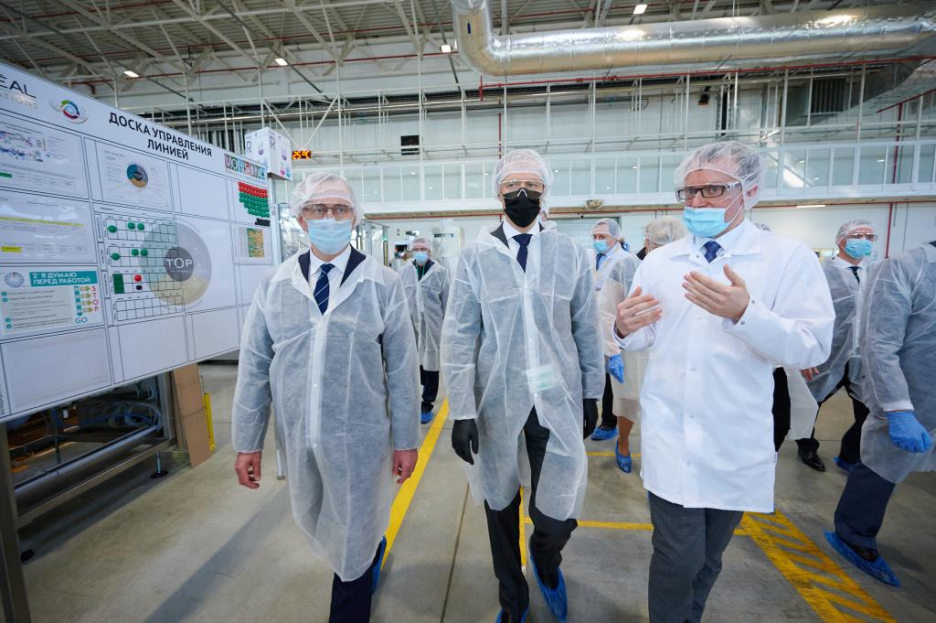Завод «Лореаль» в Ворсине начал производство антисептиков