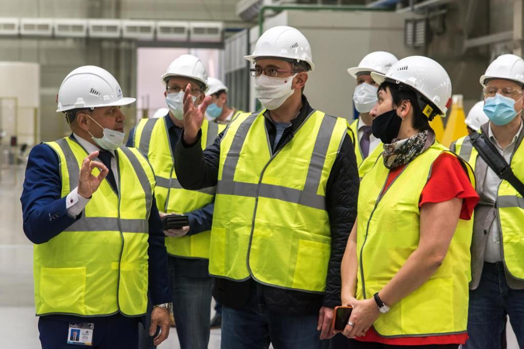 В Калужской области начал работу завод крупнейшей в России и Европе лесохимической компании